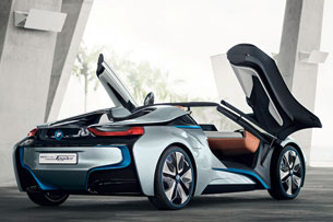 The Drop Top Of The Future Bmw I8 Infinite Garage
