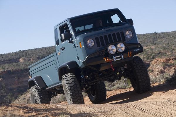 Jeep FC concept (front)