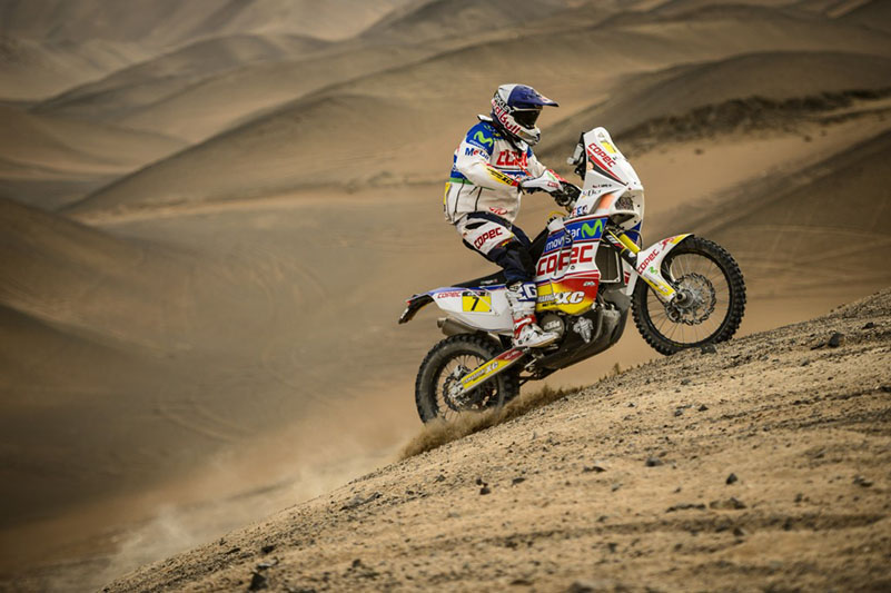 Francisco Lopez Dakar 2013 Stage 7