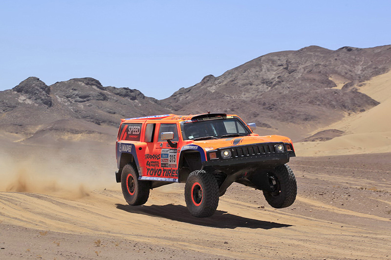 Robby Gordon Stage 13 Dakar 2013