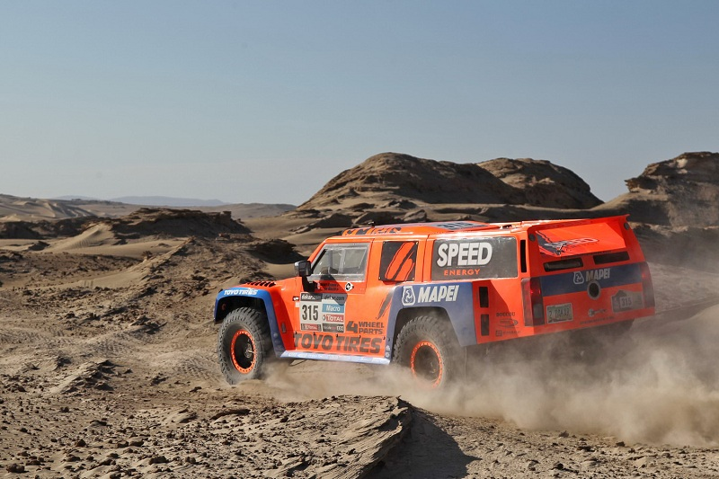 Robby Gordon Dakar 2013 stage 4
