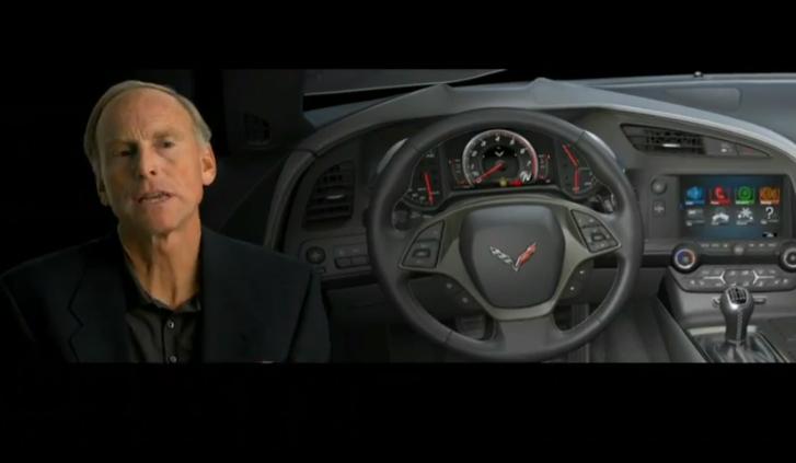 Corvette Stingray Interior