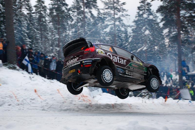 Mads Ostberg Rally Sweden