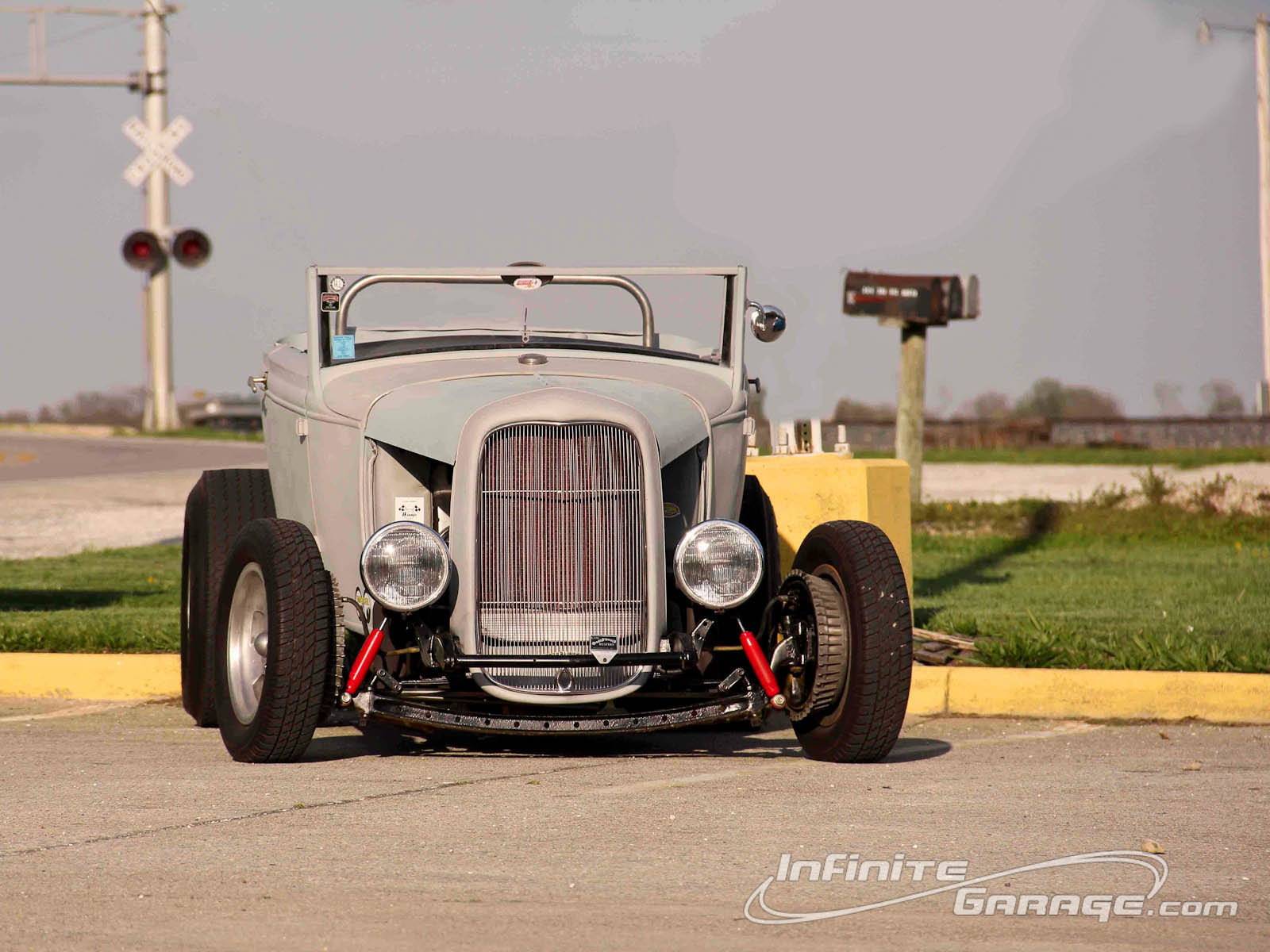 31 Ford Hot Rod Wallpaper