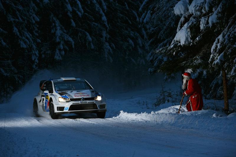 Sebastien Ogier Rally Sweden 2013