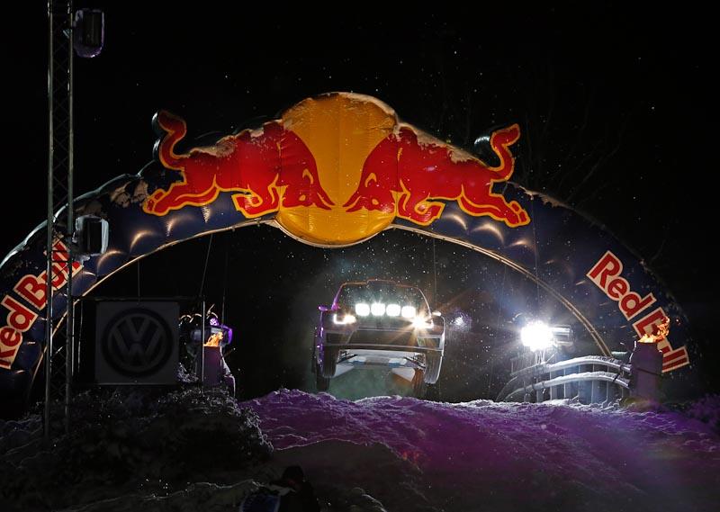 Jari Matti Latvala Rally Sweden