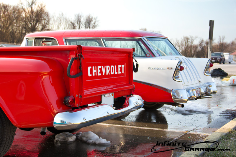 rear of chevy 3100