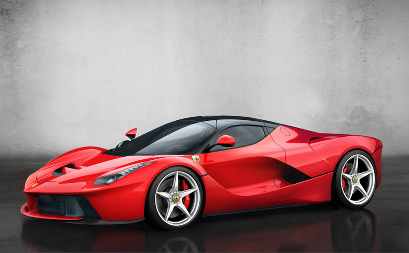 Ferrari hyper car