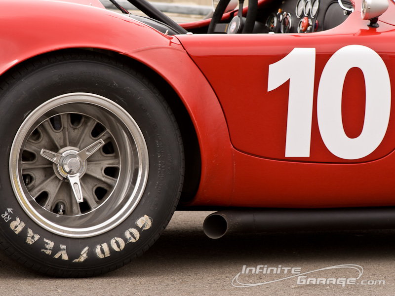 Shelby Cobra close up.