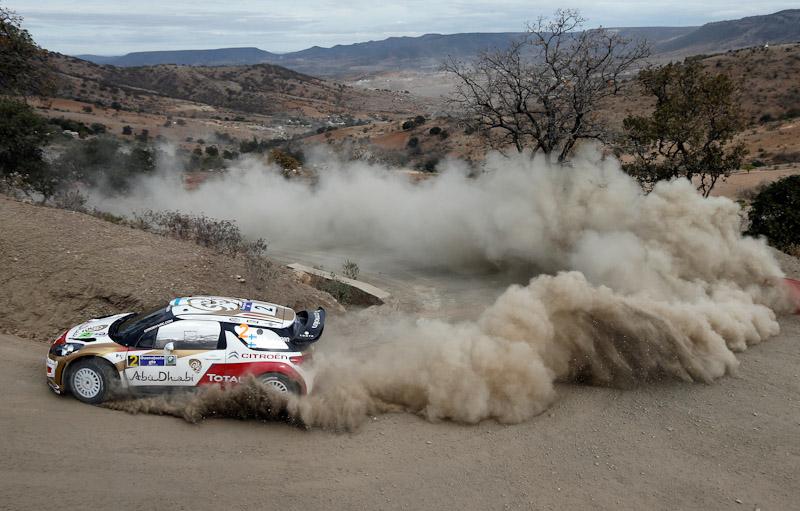 Mikko Hirvonen Rally Mexico 2013