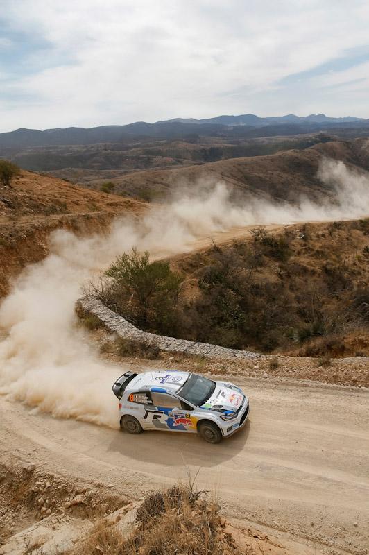 Sebastien Ogier Rally Mexico 2013