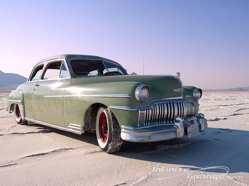 Green 1949 Desoto