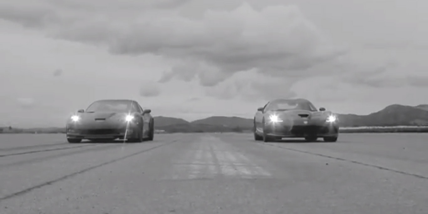 SRT Viper vs Chevy Corvette