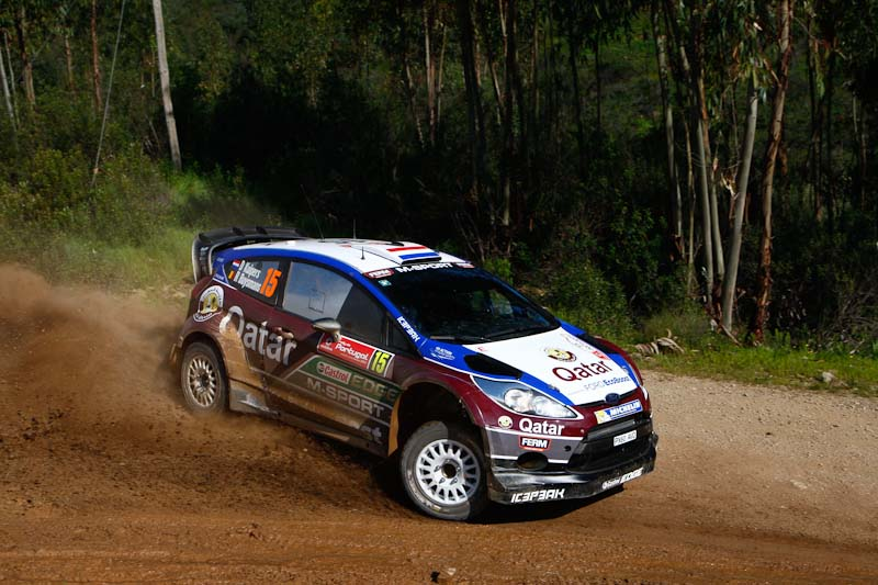 Dennis Kuipers Rally Portugal 2013