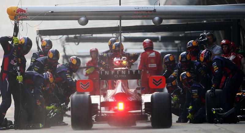 Sebastian Vettel Formula 1 2013 China GP