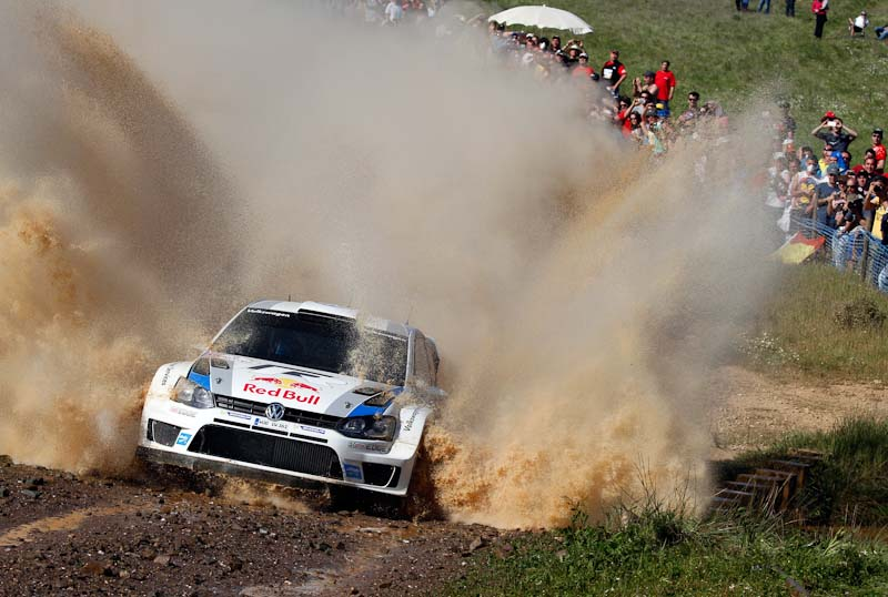 Sebastien Ogier Rally Portugal 2013