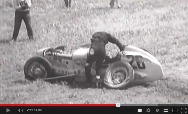 Sorry, vintage racing films apologise, but