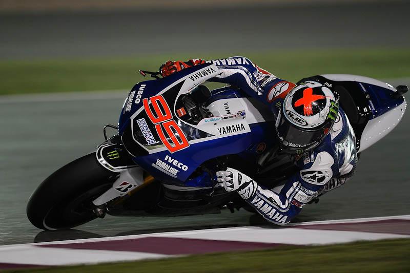 Jorge Lorenzo at MotoGP Qatar 2013