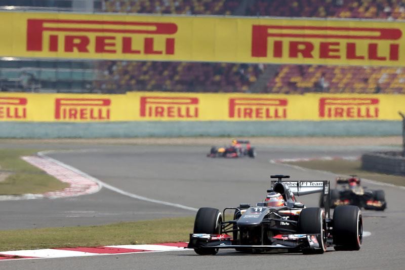 Nico Hulkenberg Formula 1 2013 China GP