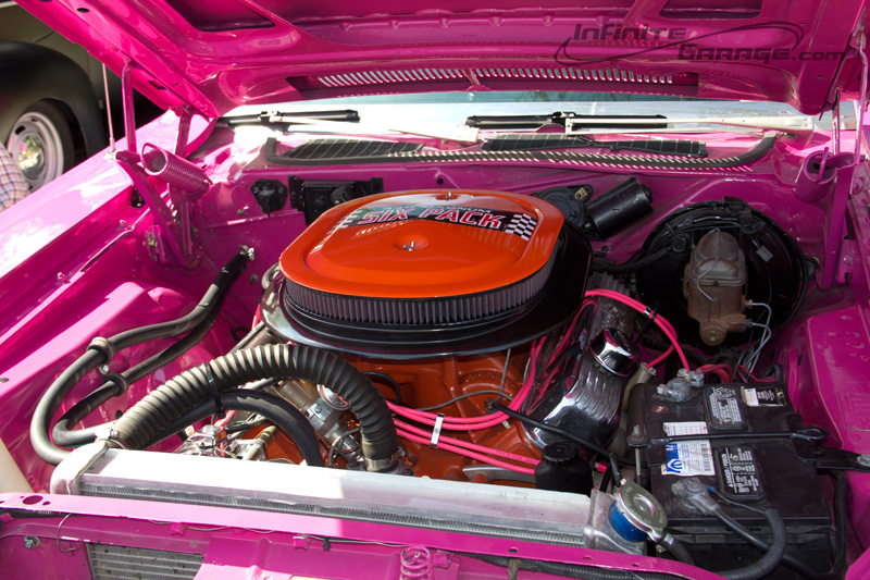 Panther Pink Dodge Challenger Infinite Garage