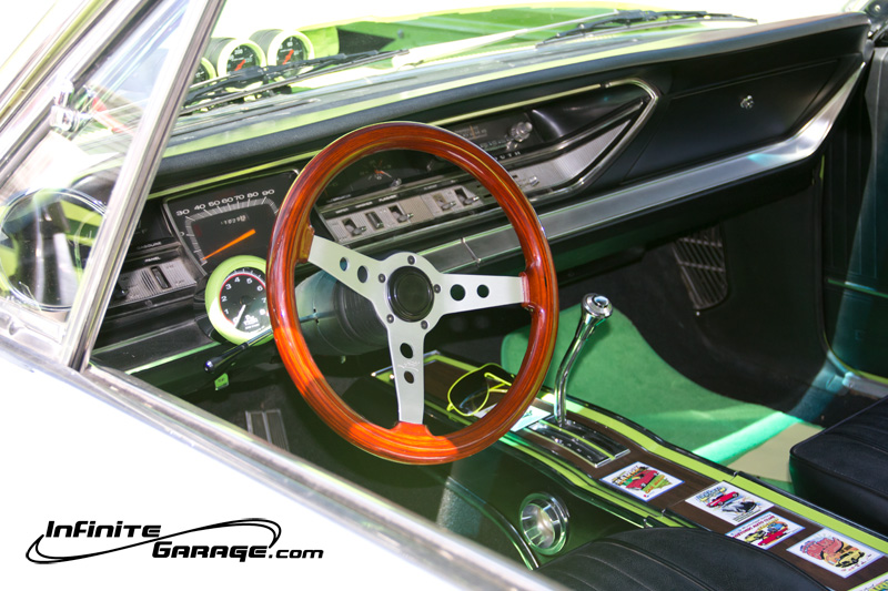 plymouth fury interior