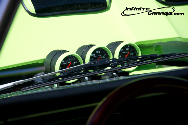 plymouth fury gauges