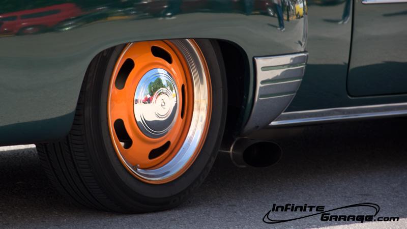 custom orange wheels