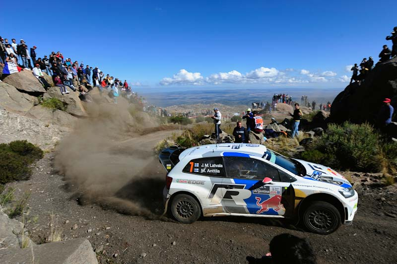 Latvala 2013 WRC Rally Argentina