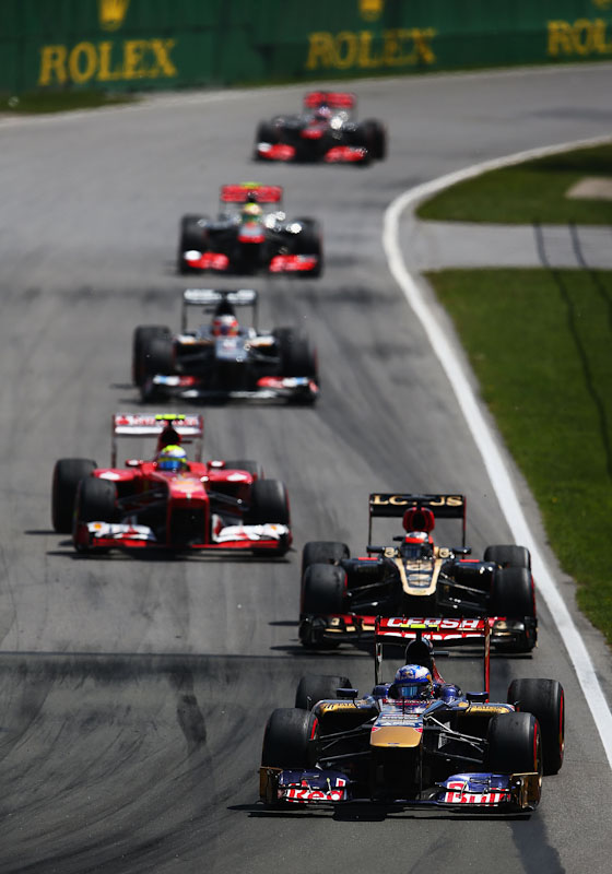 Daniel Ricciardo 2013 Canadian GP