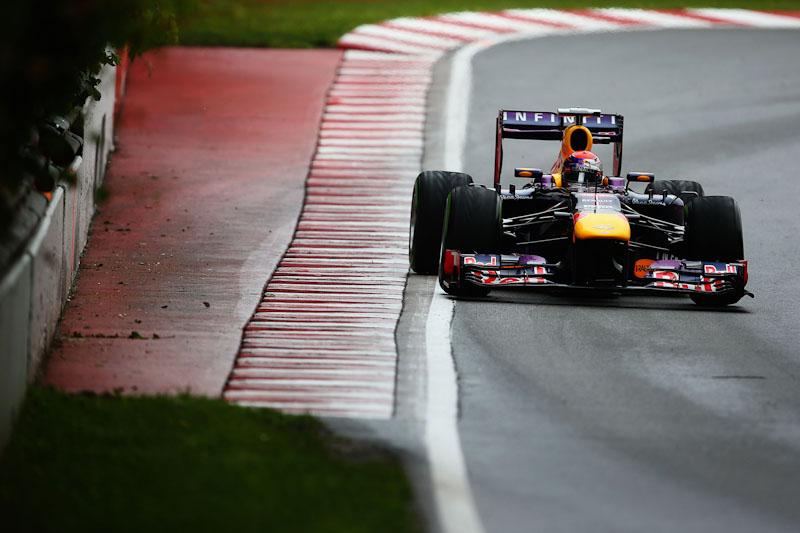 Sebastian Vettel 2013 Canadian GP